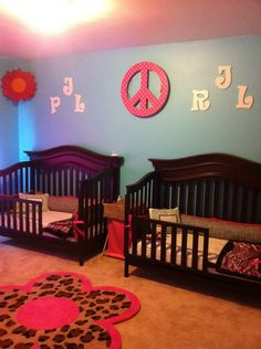 small room for twins girls - girls' room designs - decorating