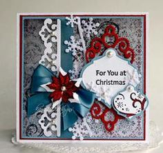 """#S4-338 Spellbinders """"Shapeabilities"""" Collection """"Holiday Tags"""" #3/3 card sample  (Site: photo only)"""