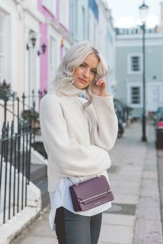5 Things I Wish I'd Known Before University - Inthefrow Fashion 101, Fashion Models, Autumn Fashion, Fashion Outfits, Female Fashion, Womens Fashion, Grey White Hair, Gray Hair, Victoria Magrath