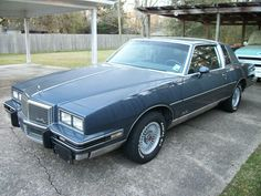 1984 Pontiac Grand Prix aka La Bestia. My first car. I could fit 6-7 people in the front and a couple of bodies in the trunk