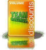 Team Sales Volume Discounts-- Ask A Representative Today