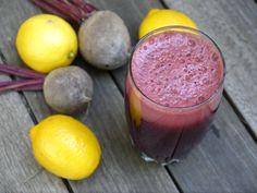 Beet Lemonade Juice 2 beets 1 lemon ½ cucumber 1 green apple 4 big handfuls of spinach