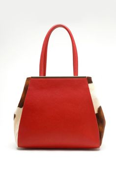 Grace Satchel in Red on Emma Stine Limited