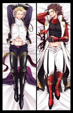 Fire Emblem:Fates - Smexy Ryoma and Xander Body Pillow Design. Fire Emblem Awakening, Handsome Anime Guys, Hot Anime Guys, Hot Guys, Fire Emblem Fates Xander, Body Pillow Anime, Dakimakura Pillow, Fire Emblem Games, Blue Lion