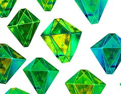 """Check out new work on my @Behance portfolio: """"Green gemstone pattern. For All Who Love Prints!"""" http://be.net/gallery/38292523/Green-gemstone-pattern-For-All-Who-Love-Prints"""