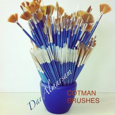 COTMAN water color brushes