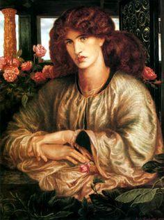 La Donna Della Finestra- Rossetti