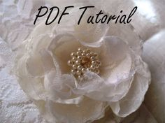 Jenny Glass pearl crystal brooch component PDF by HaniBeading