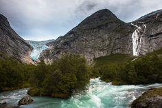 Бриксдаль – один из самых доступных ледников Норвегии