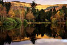Glencoe Lochan,Highlands of Scotland by Roger Merrifield