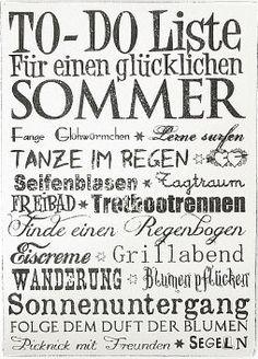 Für einen glücklichen Sommer