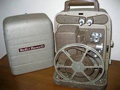 Movie Projector ~ I actually borrowed this from the library to show movies at the nursing home I worked at in 1973!