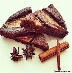 Mandlovo-hruškový koláč   Fitnessreceptář.cz - vybrané zdravé fitness recepty, články a více