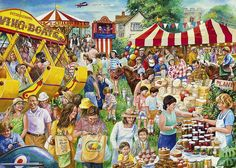 Great British Pastimes - The Village Show