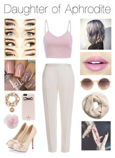 Daughter of Aphrodite Linda Farrow, Aphrodite, Percy Jackson, Dress Outfits, Daughter, My Style, Aurora, Polyvore, Kate Spade