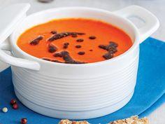 Közlenmiş kırmızıbiber çorbası Tarifi - Türk Mutfağı Yemekleri - Yemek Tarifleri