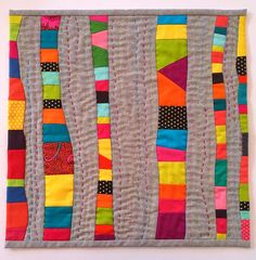 Blue Mountain Daisy: A Trio of Quilts