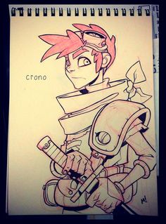 Crono Re-Imagined by Zatransis on deviantART