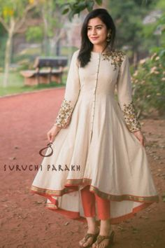 Outstanding Fall Fresh Look. Lovely Colors and Shape. 44 Sexy Casual Style Outfits For Starting Your Summer – Outstanding Fall Fresh Look. Lovely Colors and Shape. Salwar Designs, Kurta Designs Women, Kurti Designs Party Wear, Blouse Designs, Long Dress Design, Stylish Dress Designs, Designs For Dresses, Stylish Dresses, Casual Dresses