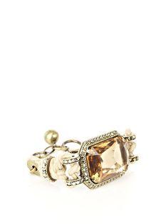 Lanvin nautical rope and jewel bracelet