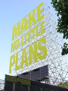 Just one week to go until 2016 . Make no little plans; Stage Design, Event Design, Transformation Church, Wayfinding Signs, Pop Up Market, Anniversary Logo, Mural Wall Art, Scaffolding, Booth Design