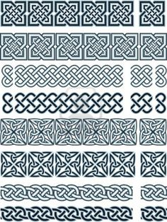 Buy Celtic style by on GraphicRiver. Elements of design in Celtic style in a vector Cross Stitching, Cross Stitch Embroidery, Embroidery Patterns, Cross Stitch Patterns, Loom Patterns, Celtic Symbols, Celtic Art, Celtic Knots, Celtic Dragon