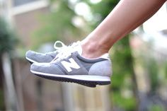 New Balance in grey!