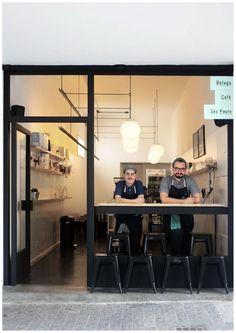 Um café minimalista no centro de SP!