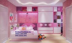 Rất nhiều mẫu phòng ngủ bé gái đẹp
