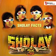 The wait is over! Sholay 3D is releasing today and movie lovers are going crazy about it. Here are some unknown facts about the original Sholay which you can't afford to miss.
