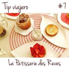 ¡Para todos los viajeros! Este miércoles te vamos a recomendar una de nuestras pastelerías favoritas en Paris: La Patisserie des Reves. www.lapatisseriedesreves.com