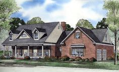 Cape Cod Country House Plan 62079