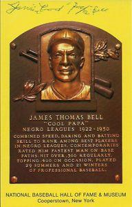 "James ""Cool Papa"" Bell Signed Hall of Fame Postcard w COA | eBay"