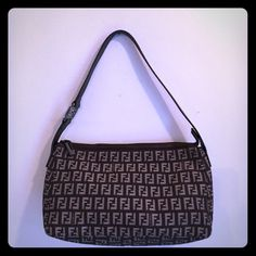 LIKE-NEW FENDI ZUCCA PRINT CANVAS/LEATHER HOBO BAG ! This bag beautiful FENDI is the ZUCCA PRINT In QUALITY CANVAS with LUSH LEATHER trim, strap & detail! This bag is in like new condition with little signs of wear‼️ It has a little spot on the interior but is cleanable! I just haven't had the chance yet & may/may not have the chance before shipment. So notate this. As you see the inside of the bag has all the pictures taken of it. It is is a post 2006 FENDI, So it has the hologram (not all…