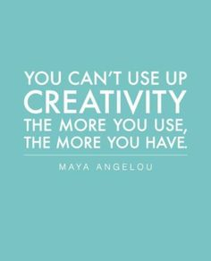 great quote about CREATIVITY