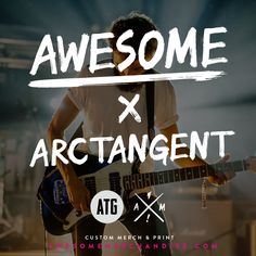 NEW CONTEST! We've teamed up with ArcTanGent Festival to give away two VIP festival passes & £200 to spend on our site. Click this: http://awsmr.ch/AweTangent #Festivals #Competition