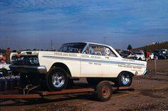 Vintage Drag Racing - A/FX - Mecury Comet - Don Reider