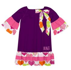 Check out the dress I created on Designed By Me from Lolly Wolly Doodle!
