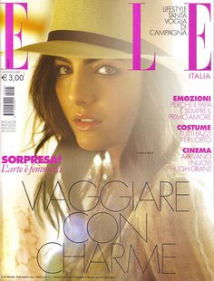 """Camilla Belle photographed by Matt Jones for the cover of """"ELLE"""" Italy magazine march 2009....."""