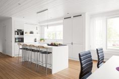 Another white scandinavian kitchen