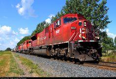 RailPictures.Net Photo: CP 9137 Canadian Pacific Railway EMD SD9043MAC at Portage La Prairie, Manitoba, Canada by Paul Sincerny