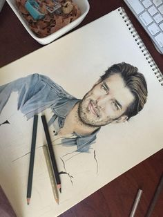 This sketch is amazing! Thanks to our fan Michelle Lynn for drawing it :)