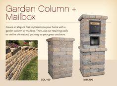 mailbox idea with brick