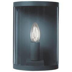 Garden Trading Company Astall Outdoor Wall Light, Slate Online at johnlewis.com