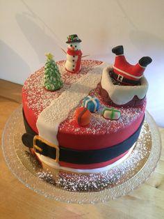 Gâteau de noël  Tout choco