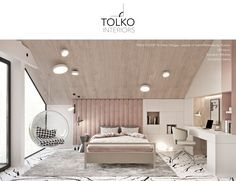 Showcase and discover the latest work from top online portfolios by creative professionals across industries. Dream Bedroom, Room Decor Bedroom, Home Interior, Interior Design, Luxurious Bedrooms, Modern Bedroom, Luxury Kids Bedroom, Girl Room, New Homes