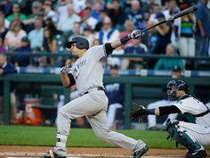 Yankees rookie Gary Sanchez homers twice, but Michael Pineda and bullpen can't hold lead Baseball Photos, Baseball Cards, Baseball Stuff, Baby Bomber, Gary Sanchez, Killing Me Smalls, American League, Baseball Players, New York Yankees