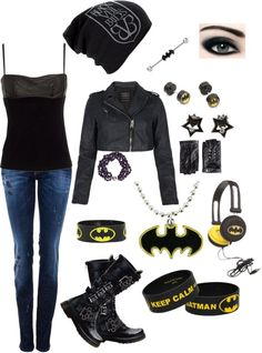 """What I would probably wear to a BVB concert"" by xscarlett990x ❤ liked on Polyvore"