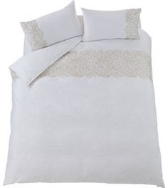 Buy Kingsize Whites Duvet cover sets at Argos.co.uk - Your Online Shop for Home and garden.
