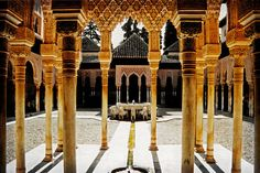 Alhambra, Granada, Spain.  Been there!